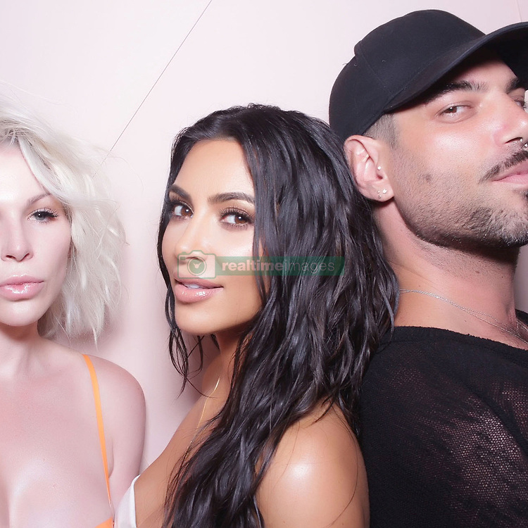 """Kim Kardashian releases a photo on Instagram with the following caption: """"Thank you to everyone who came out to my @kkwbeauty launch event! Loved seeing my OG's \u0026 meeting so many new people!"""". Photo Credit: Instagram *** No USA Distribution *** For Editorial Use Only *** Not to be Published in Books or Photo Books ***  Please note: Fees charged by the agency are for the agency's services only, and do not, nor are they intended to, convey to the user any ownership of Copyright or License in the material. The agency does not claim any ownership including but not limited to Copyright or License in the attached material. By publishing this material you expressly agree to indemnify and to hold the agency and its directors, shareholders and employees harmless from any loss, claims, damages, demands, expenses (including legal fees), or any causes of action or allegation against the agency arising out of or connected in any way with publication of the material."""