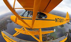Fun in a seaplane