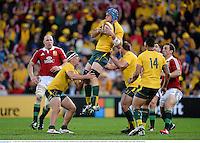 22 June 2013; James Horwill, Australia. British & Irish Lions Tour 2013, 1st Test, Australia v British & Irish Lions, Suncorp Stadium, Brisbane, Queensland, Australia. Picture credit: Stephen McCarthy / SPORTSFILE