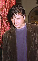 LORD JOHNSTON SOMERSET at a party in London on 13th October 1998.<br /> MKT 126