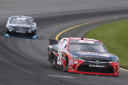 June 1, 2018 - Long Pond, Pennsylvania, United States of America - Christopher Bell (20) brings his car through the turns during practice for the Pocono Green 250 at Pocono Raceway in Long Pond, Pennsylvania. (Credit Image: © Chris Owens Asp Inc/ASP via ZUMA Wire)