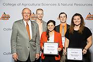 Oklahoma Grain and Feed Industry Scholarship <br /> Emma Hayhurst, Ryan Gifford, Max Cosby and Brooke Black