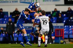 Mark McGuinness of Ipswich Town heads the ball - Mandatory by-line: Phil Chaplin/JMP - 21/11/2020 - FOOTBALL - Portman Road - Ipswich, England - Ipswich Town v Shrewsbury Town - Sky Bet League One
