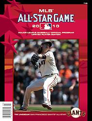 Tim Lincecum, All-Star Game Program, 2010