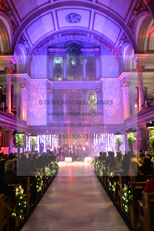 ***UK_MAGAZINES_OUT***<br /> LONDON, ENGLAND 29 NOVEMBER 2016: Atmosphere at the Fayre of St James's hosted by Quintessentially Foundation and the Crown Estate in aid of Cheryl's Trust in support of The Prince's Trust held at St.James's Church, Piccadilly, London, England. 29 November 2016.