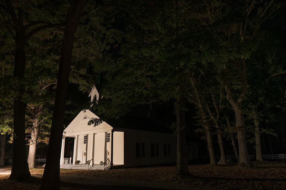 Church in Woods. West Virginia.