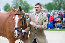 Nicholson Andrew, (NZL), Nereo<br /> First Horse Inspection<br /> Mitsubishi Motors Badminton Horse Trials - Badminton 2015<br /> © Hippo Foto - Libby Law<br /> 06/05/15