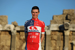 photo session of KK Adria Mobil before new cycling season, on January 17, 2019 in Side, Turkey. Photo by Vid Ponikvar / Sportida