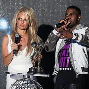 MON/Monaco/20140527 -World Music Awards 2014, Jason Derulo en Pamela Anderson