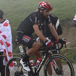 LUZ ARDIDEN (FRA) CYCLING: July 15<br /> 18th stage Tour de France Pau-Luz Ardiden<br /> Images from the Col du Tourmalet<br /> Thomas de Gendt