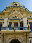 View of the Invercargill Civic Theater, along Tay Street, Invercargill, New Zealand