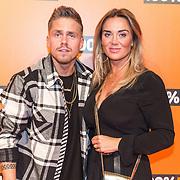 NLD/Amsterdam/20190208- 100% NL Awards  2019, Andre Hazes en Monique Westenberg