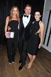 Left to right, STELLA McCARTNEY, DAVID WALLIAMS and VICTORIA PENDLETON at the GQ Men of The Year Awards 2012 held at The Royal Opera House, London on 4th September 2012.