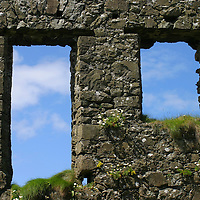Europe, Ireland, Northern Ireland, Bushmills. Dunluce Castle.