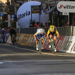 08-08-2020: Wielrennen: Milaan-San Remo: San Remo Wout van Aert wins  Milaan-San Remo