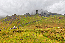 Old Man of Storr on the Isle of Skye, Scotland, UK
