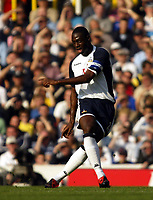 Photo: Chris Ratcliffe.<br />Tottenham Hotspur v Everton. The Barclays Premiership.<br />15/10/2005.<br />Ledley King after his excellent midweek performance for England