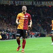 Galatasaray's Fernandao during their Turkish Super League soccer match Galatasaray between Antalyaspor at the AliSamiYen Spor Kompleksi TT Arena at Seyrantepe in Istanbul Turkey on Saturday, 21 November 2015. Photo by Kurtulus YILMAZ/TURKPIX