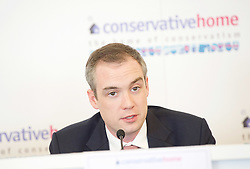James Wharton MP, Boris Johnson's campaign manager and part of the team responsible for getting Boris Johnson elected as the new leader of the Conservative party and Prime Minister 25th June 2019.<br />