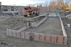 Milford Salt Shed and Stores Building Construction Progress Photography. Site vist 2 of once per month Cronological Documentation. 24 Novemver 2009
