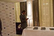 BEN ELLIOTT, Luxury Briefing Wealth Summit Conference drinks. Corinthia Hotel. Whitehall, London. 27 October 2011.<br /> <br />  , -DO NOT ARCHIVE-© Copyright Photograph by Dafydd Jones. 248 Clapham Rd. London SW9 0PZ. Tel 0207 820 0771. www.dafjones.com.