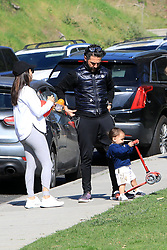 EXCLUSIVE: Eva Longoria and her husband Jose Baston takes their kid Santiago to the park in Beverly Hills **SPECIAL INSTRUCTIONS*** Please pixelate children's faces before publication.***. 03 Feb 2020 Pictured: Eva Longoria and Jose Baston. Photo credit: MEGA TheMegaAgency.com +1 888 505 6342