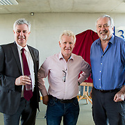 24.03.2017            <br /> Limerick Civic Trust, Marjorie Daly commissioned Jim Kemmy Portrait unveiling by Jan O'Sullivan TD at the Kemmy Business School, University of Limerick. <br /> <br /> Pictured at the event were, Dr. Philip O'Regan, Dean Kemmy Business School, UL, Prof. Paddy Gunnigle and Prof. Kevin Murphy. Picture: Alan Place