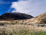 Highway 73 winds through the central mountains of New Zealand's South Island, along the way to Arthur's Pass.
