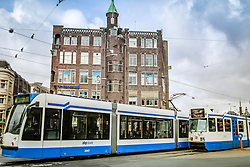 Transporte público em Amsterdam. A cidade é conhecida por seu porto histórico, seus museus de fama internacional, pelo Red Light District, seus coffeeshops liberais, e seus inúmeros canais. FOTO: Jefferson Bernardes/Agência Preview