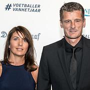 NLD/Hilversum/20190902 - Voetballer van het jaar gala 2019, Wim Jonk en partner