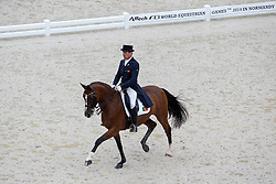 Filipe Canelas, (POR), Der Clou - Grand Prix Team Competition Dressage - Alltech FEI World Equestrian Games™ 2014 - Normandy, France.<br /> © Hippo Foto Team - Leanjo de Koster<br /> 25/06/14