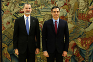 010820 King Felipe VI attends the oath of Pedro Sanchez as new Prime Minister