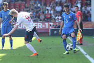 Giorgio Brogni of Italy (3) during the UEFA European Under 17 Championship 2018 match between England and Italy at the Banks's Stadium, Walsall, England on 7 May 2018. Picture by Mick Haynes.