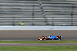 April 30, 2018 - Indianapolis, IN, U.S. - INDIANAPOLIS, IN - APRIL 30: Scott Dixon (9) during an Open Test on April 30, 2018, at the Indianapolis Motor Speedway in Indianapolis, IN. (Photo by James Black/Icon Sportswire) (Credit Image: © James Black/Icon SMI via ZUMA Press)