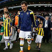 Fenerbahce's Emre Belozoglu during their Turkish superleague soccer match Fenerbahce between Bursaspor at the Sukru Saracaoglu stadium in Istanbul Turkey on Monday 20 April 2015. Photo by Kurtulus YILMAZ/TURKPIX