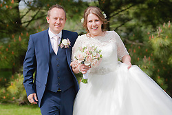 Wedding celebrations at Dodmoor House in Northamptonshire