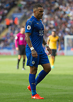 Football - 2016/2017 Premier League - Leicester Ciity V Arsenal. <br /> <br /> Danny Simpson of Leicester City at The King Power Stadium.<br /> <br /> COLORSPORT/DANIEL BEARHAM
