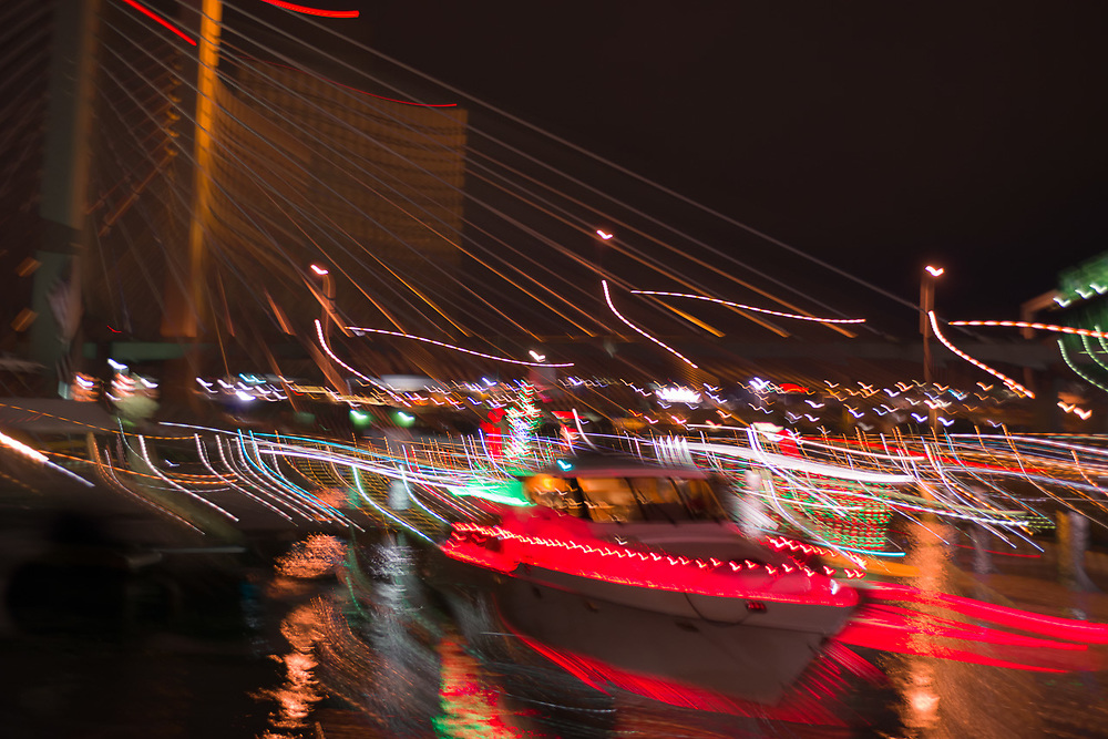 Tacoma Yacht Club Christmas parade, Tacoma, Washington, USA