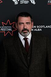 Edinburgh International Film Festival 2019<br /> <br /> Robert The Bruce (World Premiere)<br /> <br /> Pictured: Angus Macfadyen<br /> <br /> Alex Todd   Edinburgh Elite media