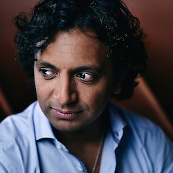 Paris, France. Hotel Fouquet's. September 1, 2015. M. Night Shyamalan, film director. Photo: Antoine Doyen