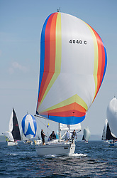 Sailing - SCOTLAND  - 25th-28th May 2018<br /> <br /> The Scottish Series 2018, organised by the  Clyde Cruising Club, <br /> <br /> First days racing on Loch Fyne.<br /> <br /> 4040C, Lemarac, Mr. A. Boyd Tunnock, Clyde Cruising Club, Moody 38<br /> <br /> Credit : Marc Turner<br /> <br /> <br /> Event is supported by Helly Hansen, Luddon, Silvers Marine, Tunnocks, Hempel and Argyll & Bute Council along with Bowmore, The Botanist and The Botanist