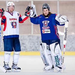 20110324: SLO, Ice Hockey - Robert Kristan, Andrej Hocevar, Andrej Tavzelj and Sabahudin Kovacevic