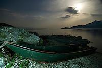 Boat, Lake Skadar, Montenegro