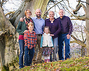 Family portraits of Andrew & Rayna Tuft, their children and Rayna's parents. Taken near their home by Shirra's Knowe, on Yair Hill, in the Scottish Borders.