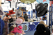 Henley, GREAT BRITAIN,  Hats at Henley, Stewards Enclosure. 2010 Henley Royal Regatta. Rowing Courses, Henley Reach, Henley, ENGLAND<br /> <br /> Friday  02/07/2010<br /> © Peter SPURRIER<br /> <br /> NIKON CORPORATION  NIKON D3  f5  1/60sec  28mm  5.9MB