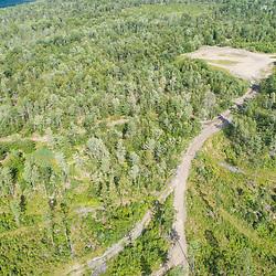 43.48060, -71.15279. Birch Ridge location E. 400 feet above ground - facing east. New Durham, New Hampshire.