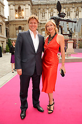 TANIA BRYER and ROD BARKER at the Royal Academy of Arts Summer Party held at Burlington House, Piccadilly, London on 9th June 2010.