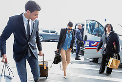 Kim's driver Gary Madar is seen with Kim Kardashian arrives at Charles de Gaulle Airport in Roissy near Paris, France on May 1, 2014. Kim's drivers Mickael Madar and his brother Gary Madar are the main suspects three months after the Kim Kardashian' robbery in a mansion in Paris during Fashion Week, the police conducted an extensive dragnet. 16 people aged 23-73 years arrested at 6am this morning in Paris and suburb. Photo by ABACAPRESS.COM