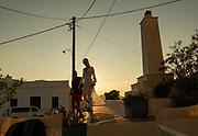 Greece, Kyklades, Folegrandos, Chora,