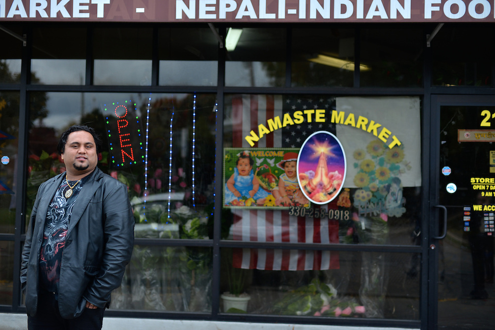Owner of Nemaste Nepali-Indian Market.